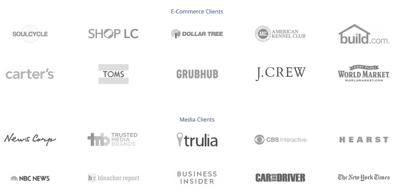 Some of the brands we won over