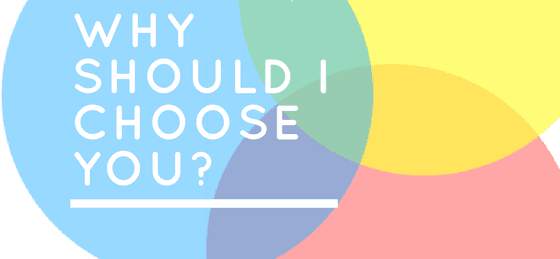Why should I choose you; SaaS