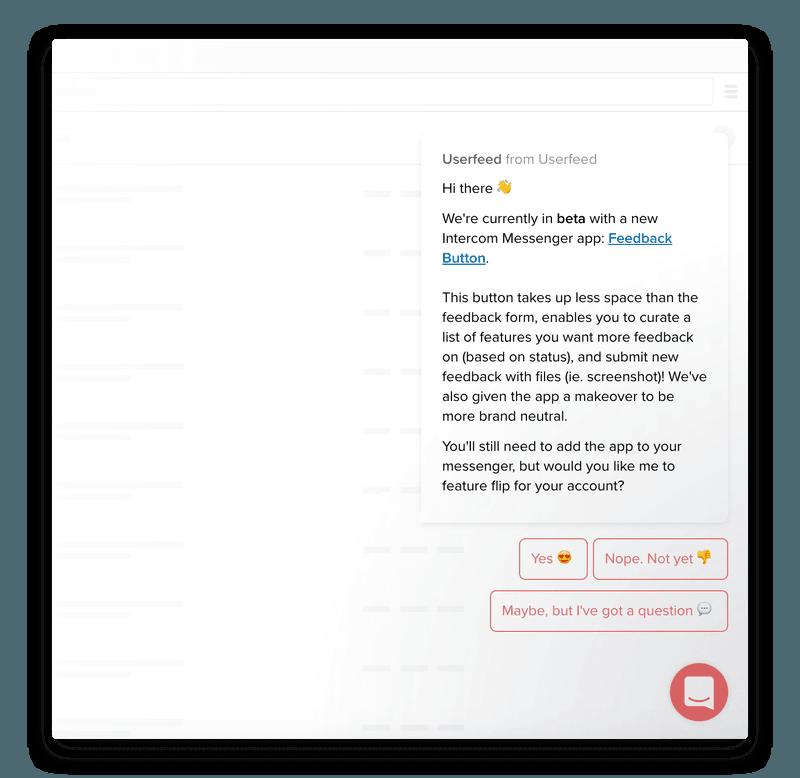 Running a beta with an Intercom chatbot
