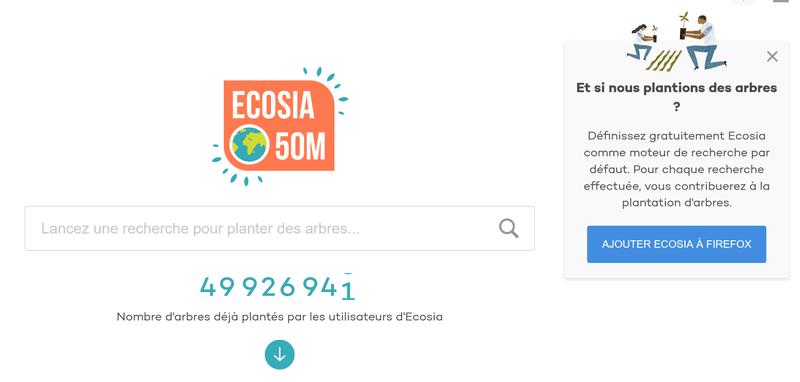 Remplacez Google Par Ecosia Ghost Academy