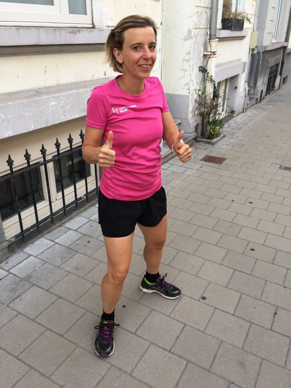 Klaar voor de marathon van Parijs