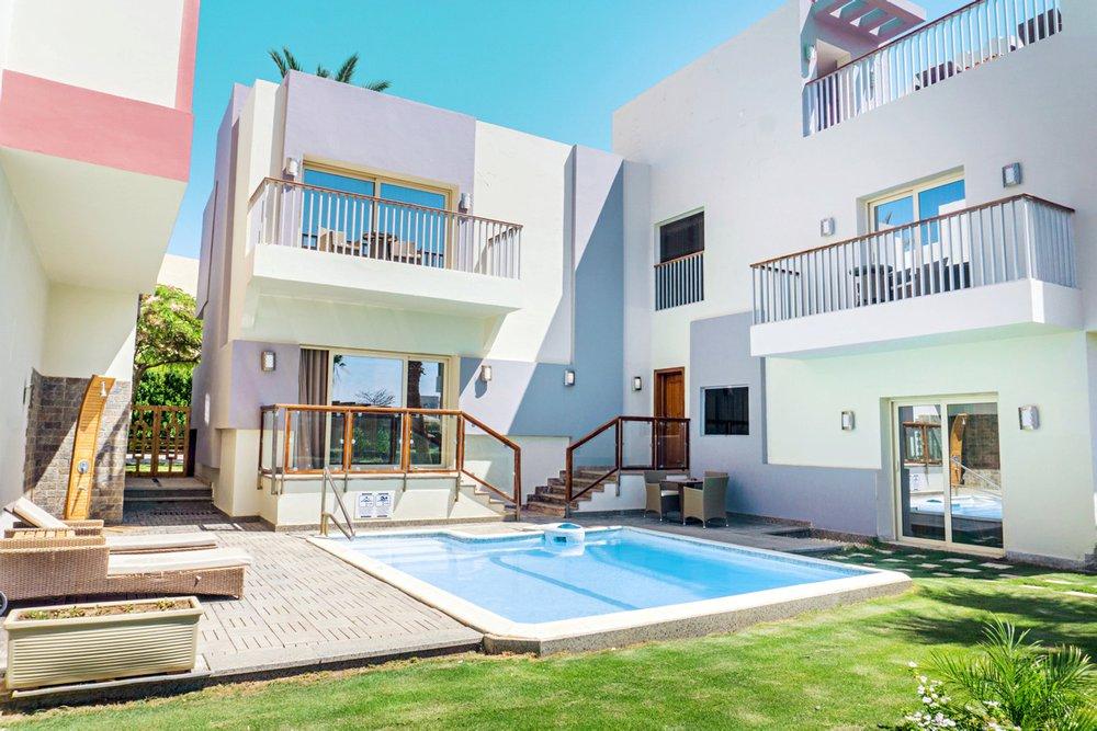 Hotel met privézwembad Sunrise Crystal Bay Resort, Egypte