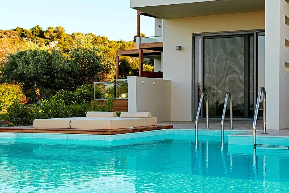 Hotel met privézwembad Sentido Port Royal Villas & Spa, Rhodos