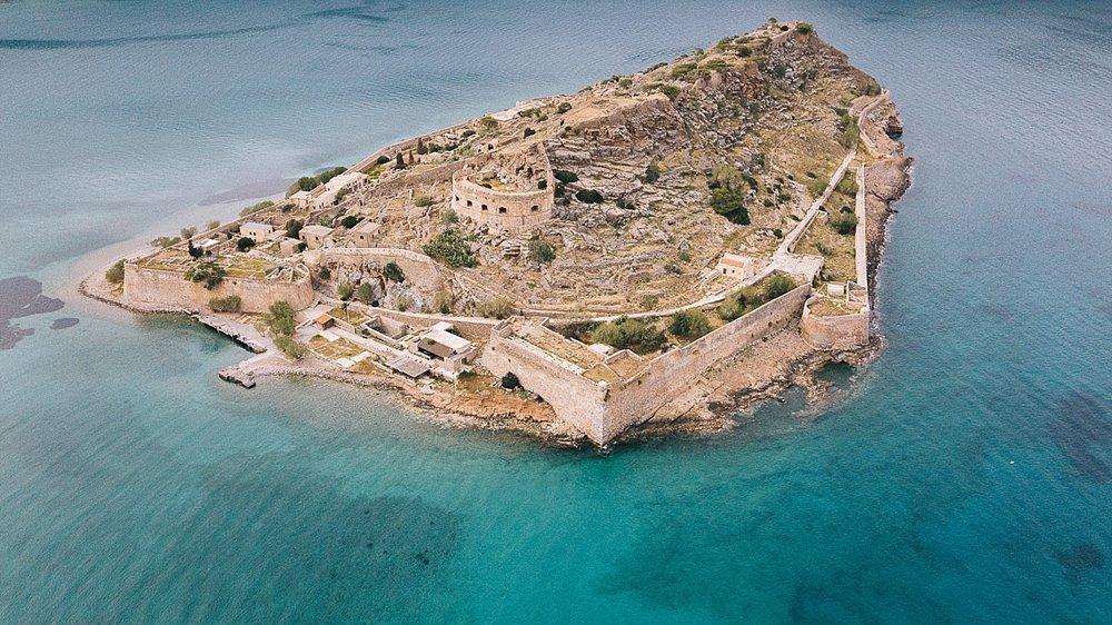 Spinalonga, l'île archéologique - Crète
