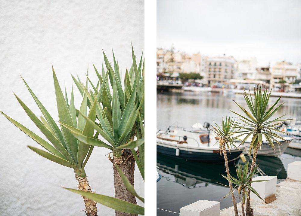 Agios Nikolaos et ses bateaux multicolores - Crète