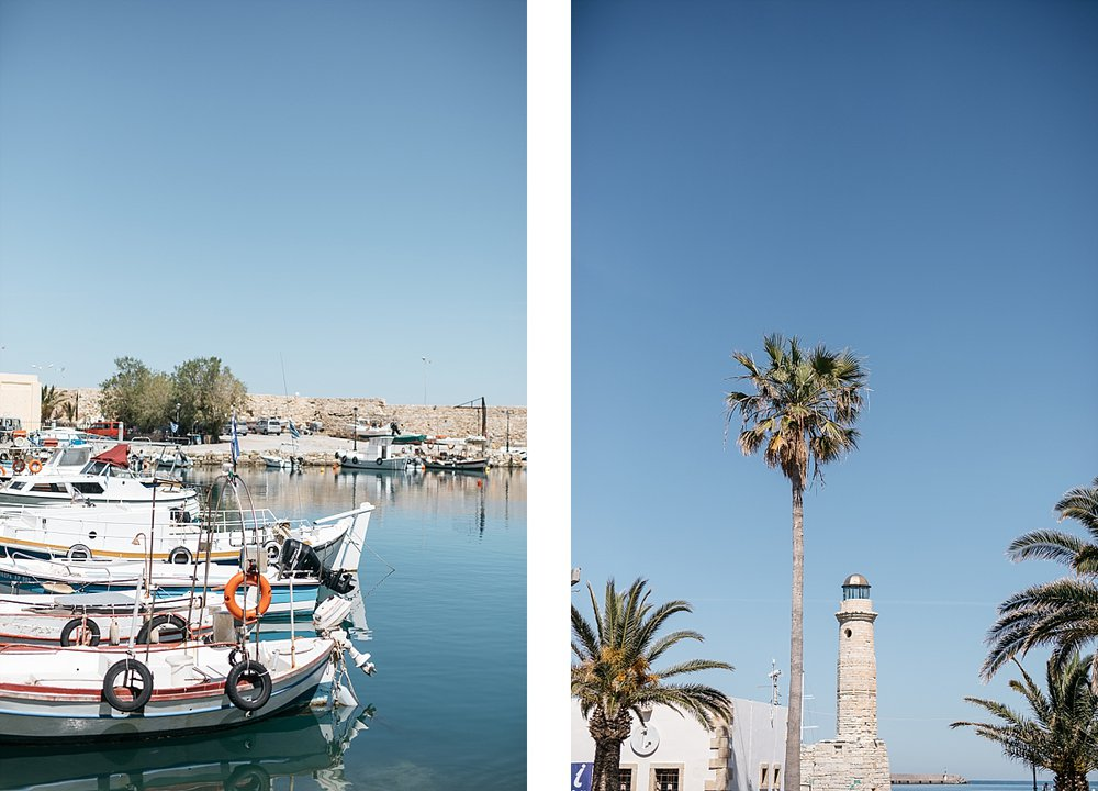 Réthymnon, la vieille ville - Crète