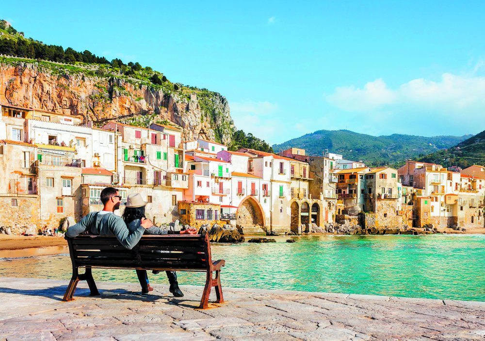zonnige eilanden Sicilië