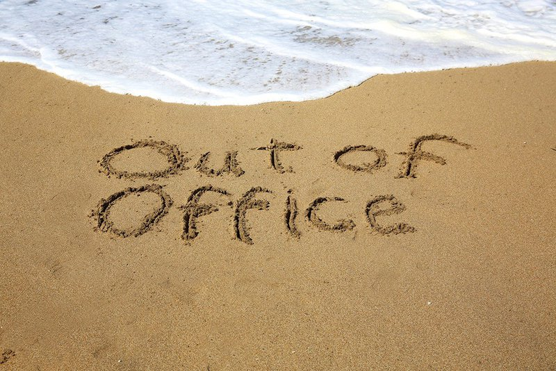 Out of Office vakantie