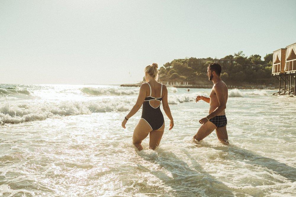 Boho beach in Club Marvy
