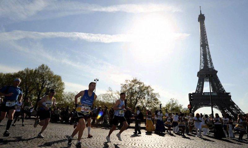 Marathon Parijs