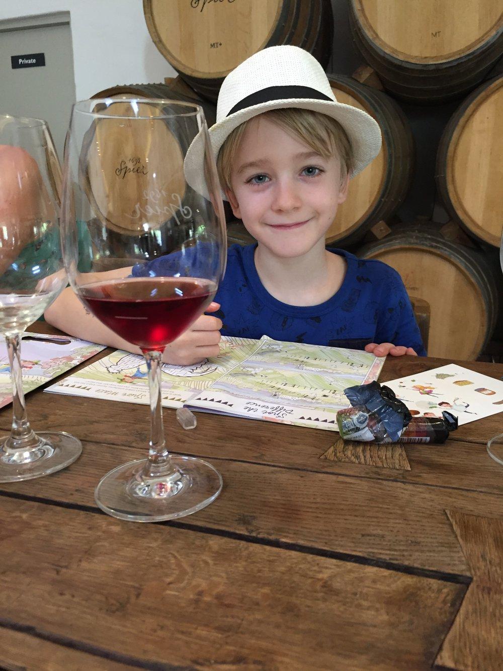 Stellenbosch: wijn proeven met de kinderen