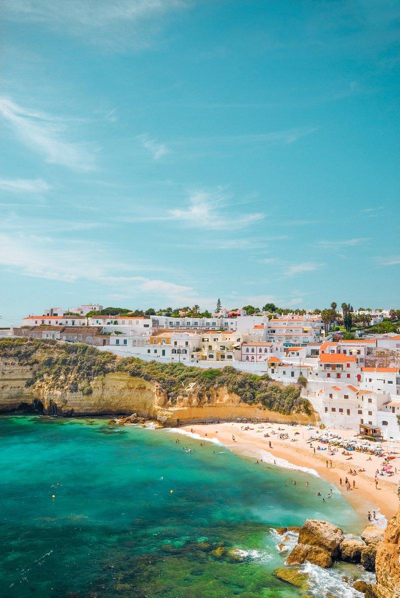 Proef van het vuurwater van de Algarve