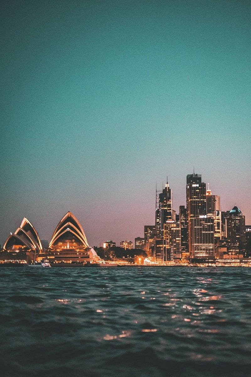 Ville au bord de la mer Sydney