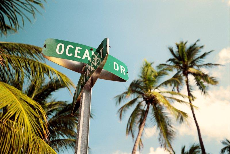 Steden aan het water Miami