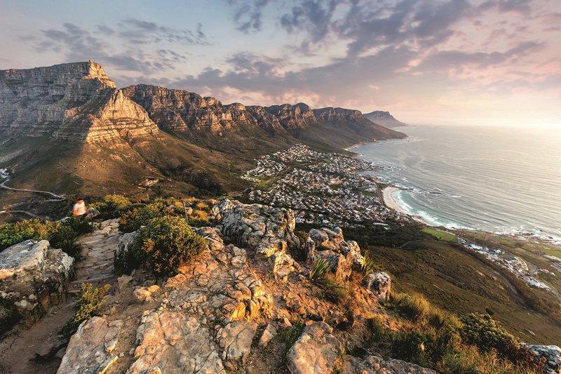3 bekende steden aan het water, Zuid-Afrika