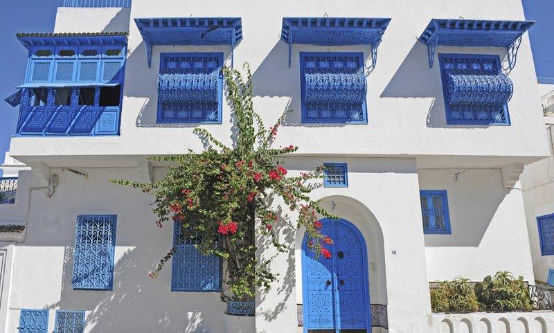 Shoppen voor souvenirs in Sidi Bou Said