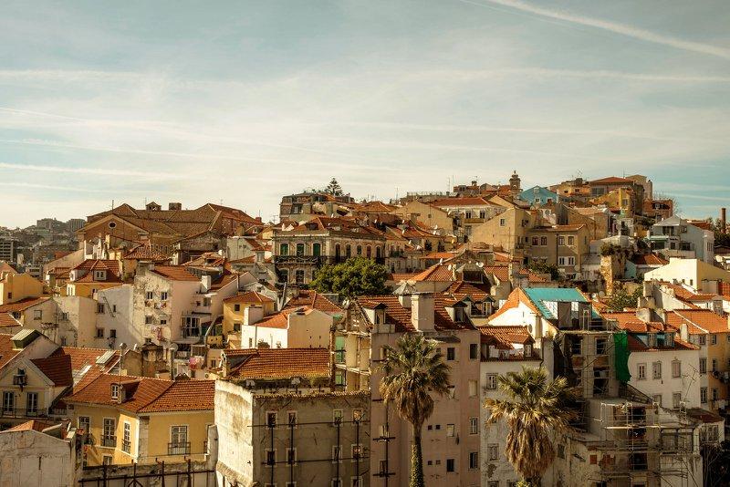 Wijk Alfama in Lissabon