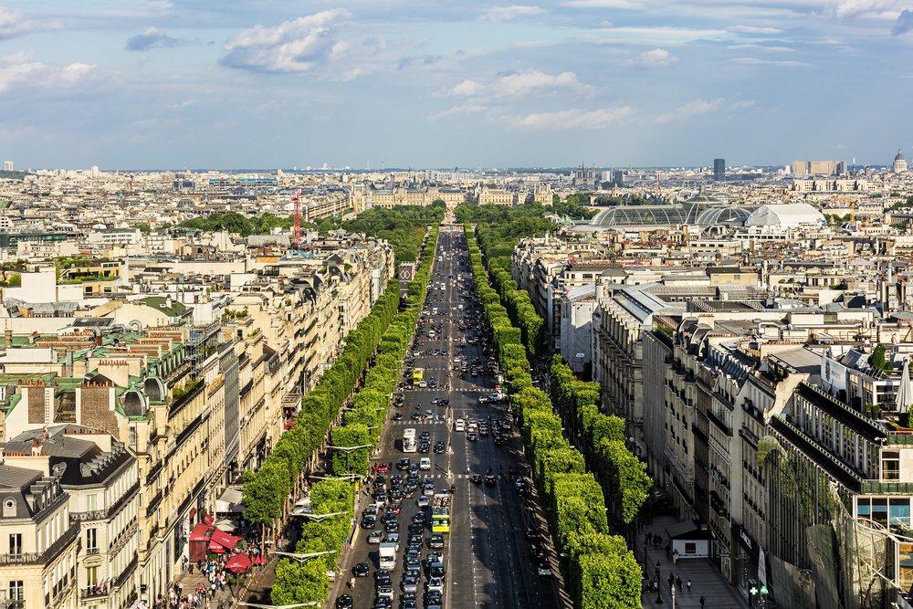 La ville de l'amour : Paris