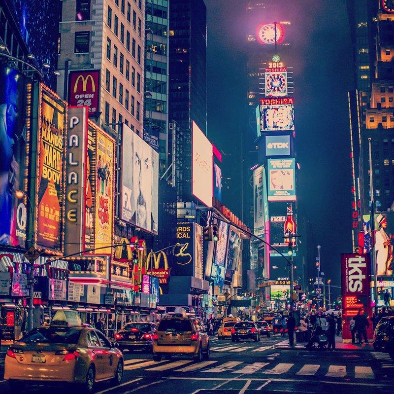 nieuwjaar vieren in New York