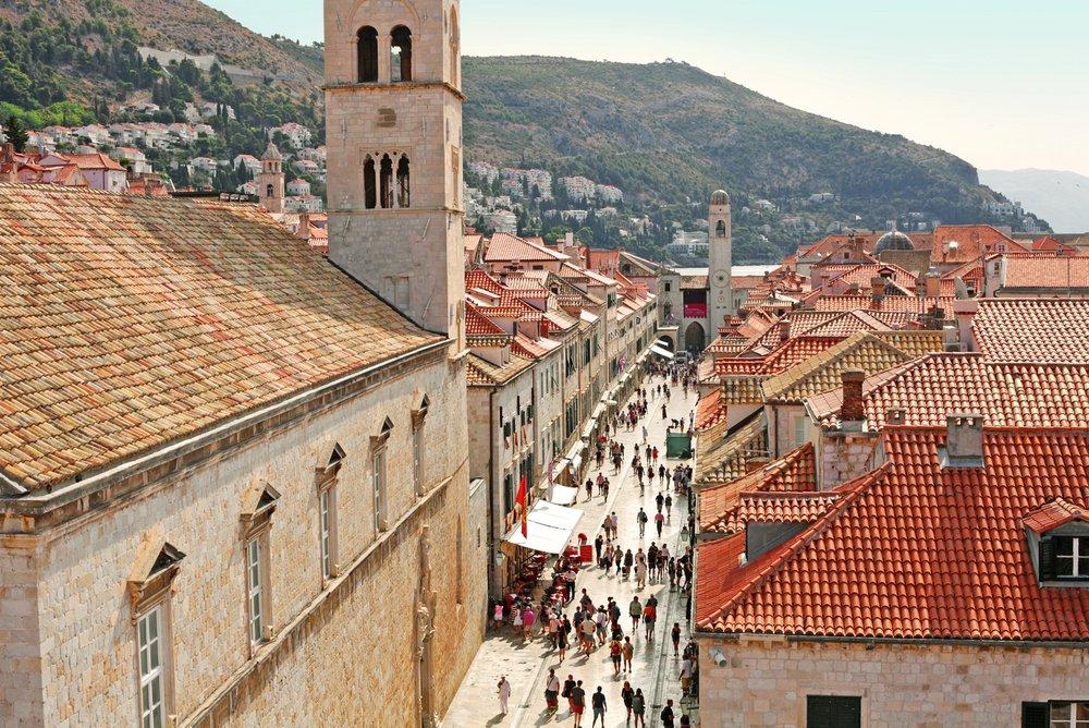 101 streepjes kunst in Dalmatië