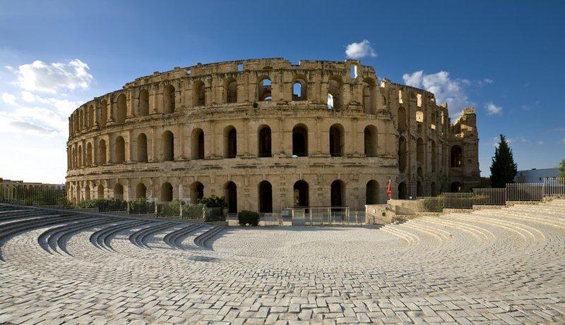 El Djem Colosseum Tunesië