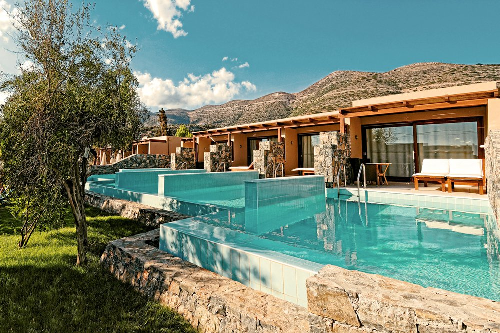 Hotel met privézwembad Sentido Blue Sea Beach, Kreta