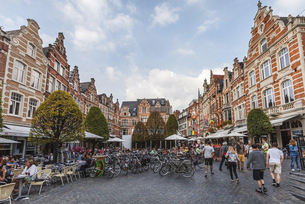 En voyage en... Belgique - Louvain