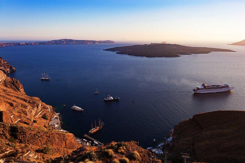 Santorini: bewonder de zonsondergang in Oia