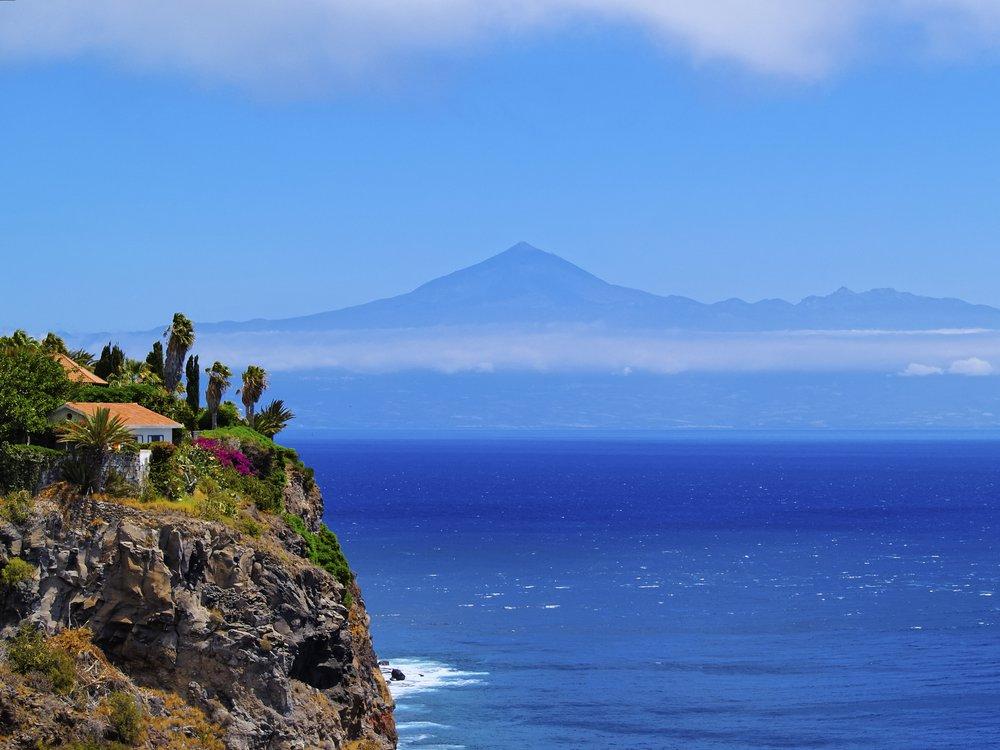 île ensoleillée La Gomera