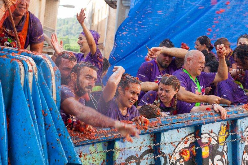 Les fêtes les plus originales de la planète - Espagne