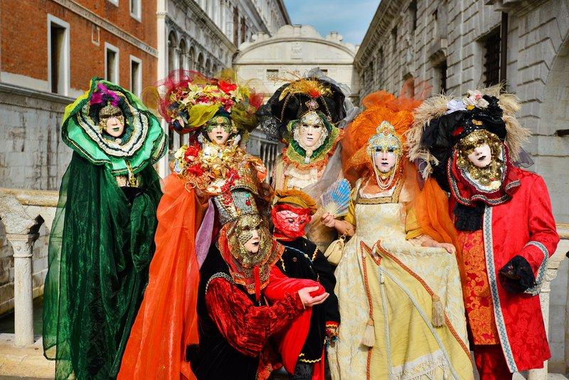Le carnaval aux quatre coins du monde - Venise, Italie