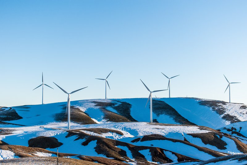 onshore windmills