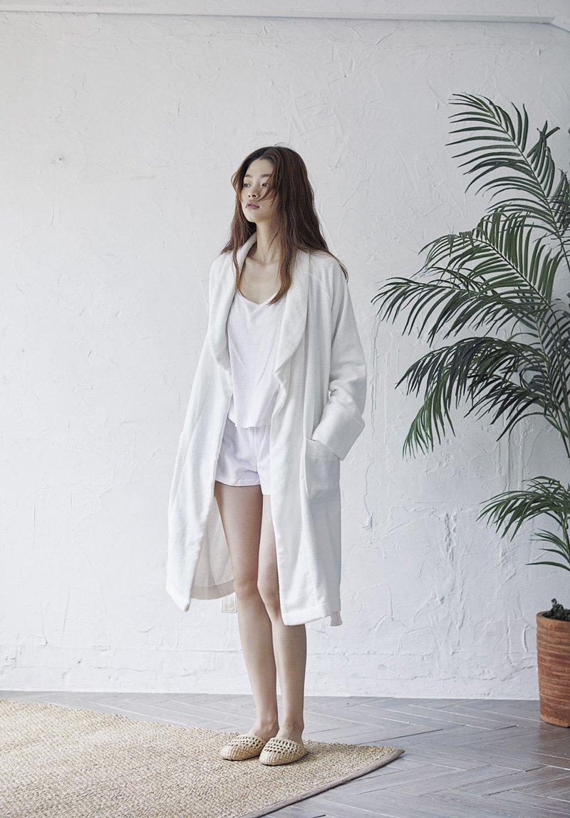 浴袍推薦、竹纖維浴袍 | hug+