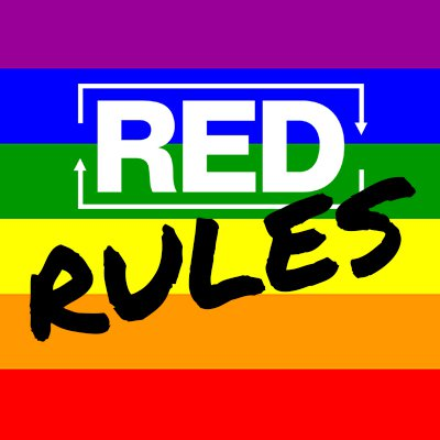 red rules - podcast episode art