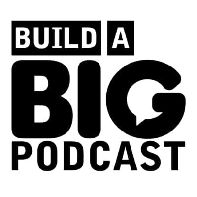 build a big podcast - podcast cover art