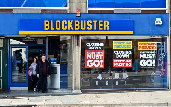 blockbuster video - a lesson for podcasters
