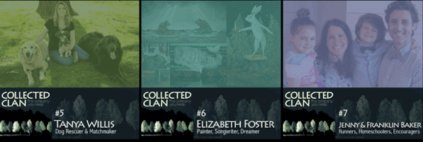 collected clan - podcast episode art