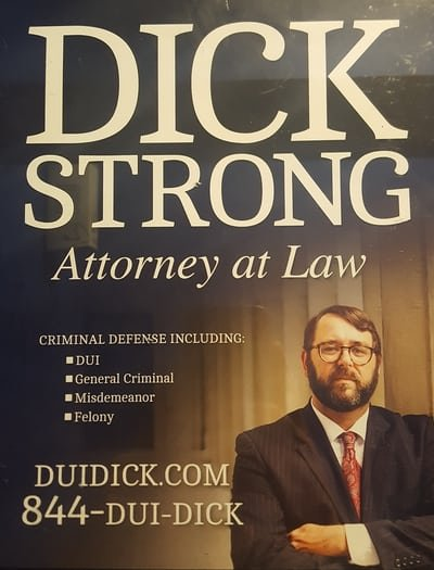 dick strong attorney ad