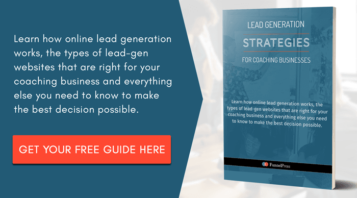 Create a Lead Generation Website FunnelPress Marketing