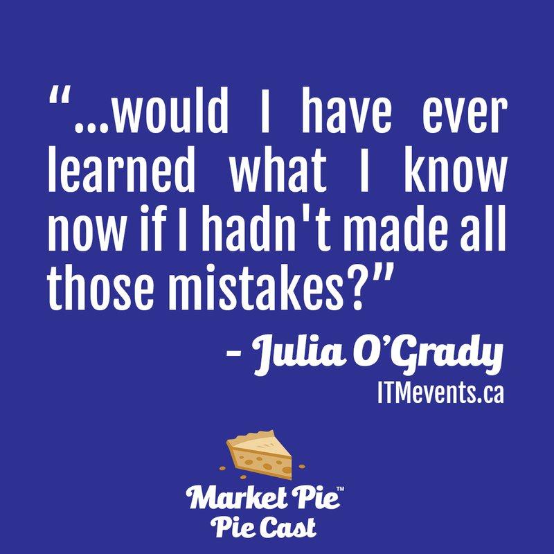 Julia O Grady mistakes