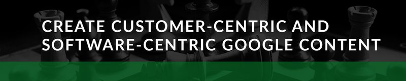 google ads create customer-centric content