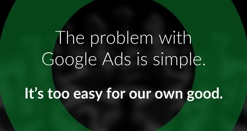 google ads problem too easy