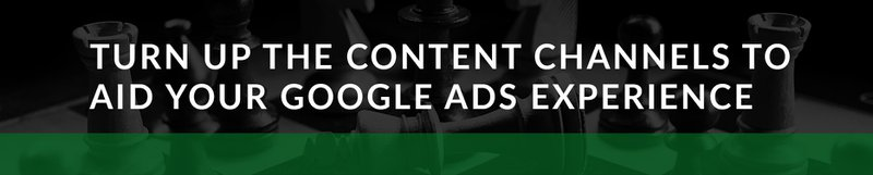 google ads content channels