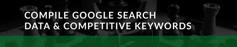 google ads compile search data