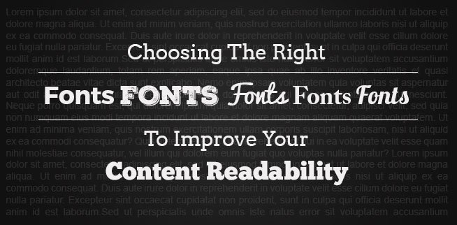 How does readability affect SEO Fonts