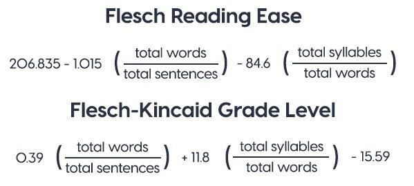 How does readability affect SEO Flesch-Kincaid test