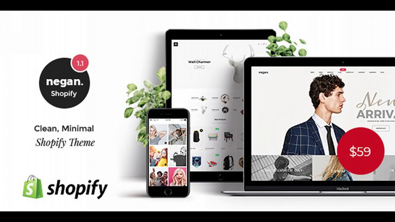 Negan Shopify theme