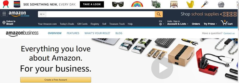 marketplace B2B amazon