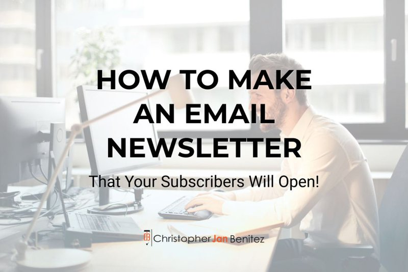 how to make email newsletters