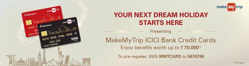 MakeMyTrip ICICI Bank Credit Cards